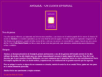 www.antakar.com > Low-budget site gives writer from Spain the ability to modify her own content via open-source GUI Content Management System (all development correspondence, with client and hosting company done in Spanish)